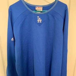 Dodgers therma base pullover